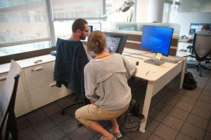SGT. STUBBY production designer Céline Desrumaux leads the Mikros Animation team in the Paris studio.