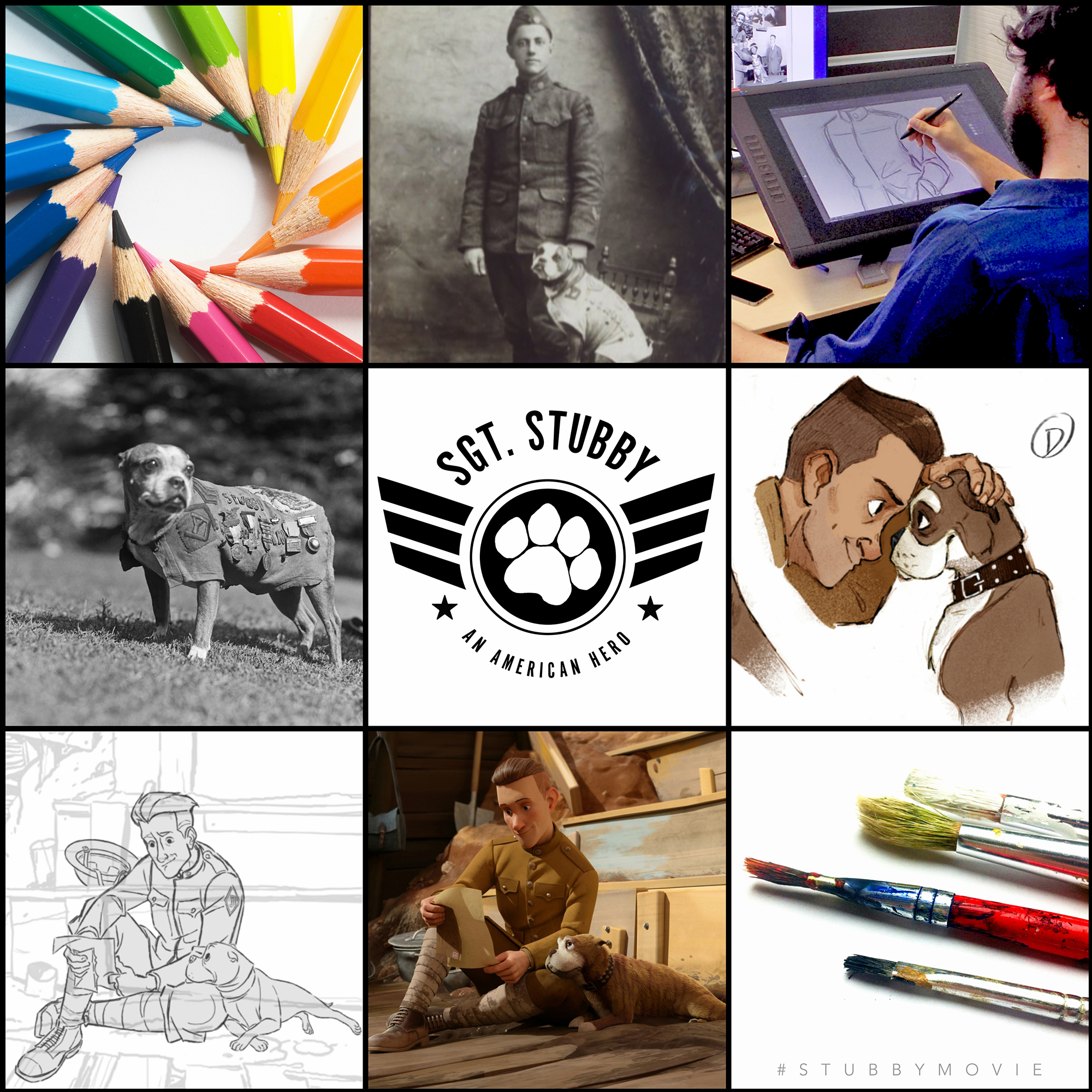 sgt-stubby-national-arts-and-humanities-month